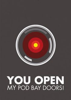 You open my pod bay doors