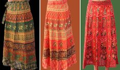 buy now Online Indian Cotton Skirts are Available oon Handicrunch