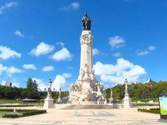 La place Marques de Pombal. http://wp.me/p3Y6sE-kE