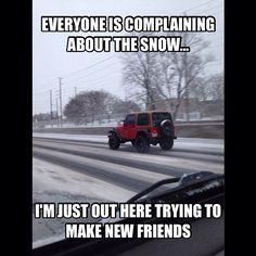 #Jeep winter