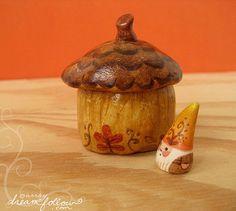 NŌM acorn habitat | by merwing✿little dear