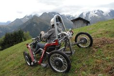 SwinCar Spider electric off roading vehicle