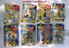 VINTAGE LOTS ACTION FIGURES, COLLECTIBLE ACTION TOYS FROM TELEVISION CARTOONS #JAKKSPACIFICFUNIMATIONPRODUCTIONLTD