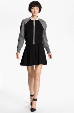 T by Alexander Wang Neoprene Bomber Jacket available at Nordstrom
