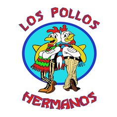 Camiseta Breaking Bad. Los Pollos Hermanos