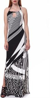 MOVIE - Γυναικείο φόρεμα Movie μαύρο-λευκό