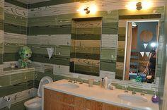 Custom Millwork Kids Bathroom