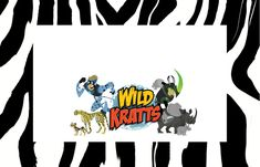 Wild Kratts Party - downloadable label