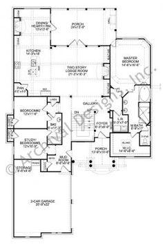 Plan 63021hd Big House Feel In A Narrow Design Narrow