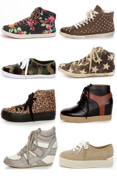 Sneakers via lulus.com