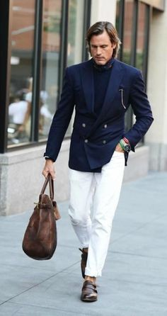 Men's Style Guide for Spring/Summer: How To Wear White Chinos