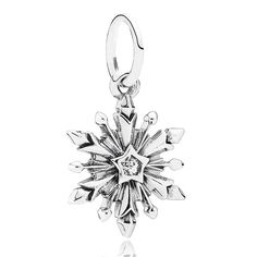 PANDORA Disney Frozen Snowflake Charm - want for frozen, elsa, and it's small so it will fit:) want as a gift