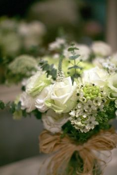 Variety Texture's White color flower arrangement from lafragrance flower