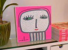 Resultado de imagen para milo lockett Easy Canvas Art, Art For Kids, Lunch Box, Diy, Ideas, Home, Paintings, Animales, Artists