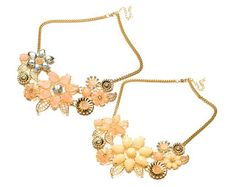 Item Specifics: Material: Alloy & Crystal Color for Selection: Pink, Beige Gender: Women Style: Sweet Pattern: Plant Chain Length: About Pendant Size: About 14 x Weight: About Package Includes: 1 x Flower Pendant Necklace Gold Necklace, Pendant Necklace, Flower Pendant, Chokers, Beige, Colour, Free Shipping, Vintage, Color