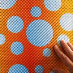 Design Academy Eindhoven graduate Anouk van de Sande's Print in Motion range of patterned garments create visual effects when worn