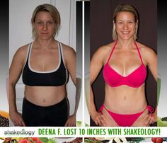 """Shakeology review: Deena F. lost 10 lbs and 10 inches with Shakeology! """"It's one of the best shakes I've tried both in taste and ingredients. It's worth the extra few $$ and helps simplify your diet and adds a boost to your workouts."""" Buy Shakeology Cheap here: http://www.onesteptoweightloss.com/how-much-does-shakeology-cost #ShakeologyResults"""
