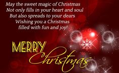 A collection of Merry Christmas wishes and New Christmas messages. You can find best christmas messages and greetings for your Christmas SMS and Christmas Cards. Christmas quotes for your card also included. Wish you a Merry Christmas Happy Christmas Day Images, Merry Christmas Status, Christmas Wishes For Family, Merry Christmas Poems, Merry Christmas Wishes Images, Christmas Quotes For Friends, Christmas Card Messages, Wishes For Friends, All Family