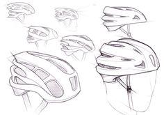 Bicycle helmet by Chris Murray