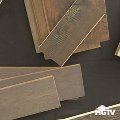 How to Pick Your Next Floor — Ever wondered the difference between types of flooring and what is best for you? Check out these tips from HGTV and @Shawfloors.