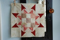 This is a wonderful new block, must make, see other pin in blues/other-complete quilt, complete good instructions.