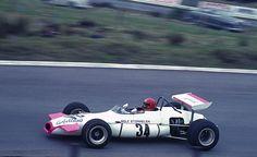 Rolf Stommelenn sur Brabham BT30 F2 au Nurburgring lors de l'Eifelrennen 1970
