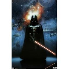 Star Wars Darth Vader Movie Poster Print