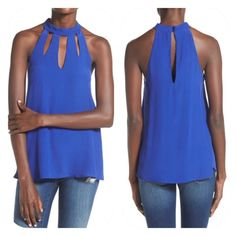 Selling this Cutout High Neck Tank in my Poshmark closet! My username is: lovebirds0125. #shopmycloset #poshmark #fashion #shopping #style #forsale #Tops