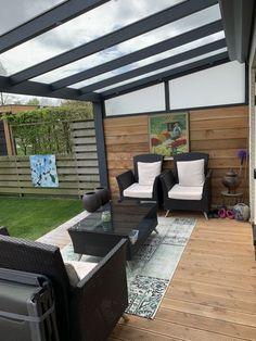 Outdoor Garden Rooms, Outdoor Pergola, Back Garden Design, Terrace Design, Backyard Patio Designs, Small Backyard Landscaping, Modern Backyard, Covered Patio Design, Garden Room Extensions