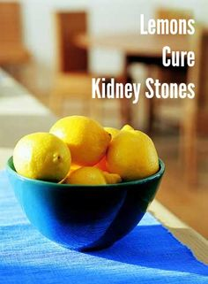 Lemon juice has the highest levels of citrate of any citrus juice, and that citrate helps dissolve any calcium deposits that will eventually turn into kidney stones.