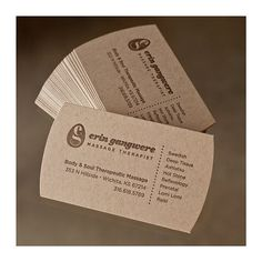 Natural Business Cards | Flickr - Photo Sharing!