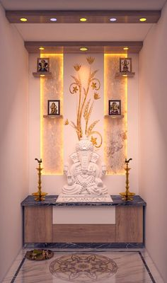 Pooja Room Door Design, Home Room Design, House Design, Wardrobe Design Bedroom, Luxury Bedroom Design, Interior Design, Indian Room, Indian Home Decor, Modern Tv Unit Designs