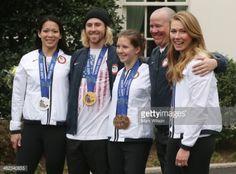 WASHINGTON, DC - APRIL 03: (L-R) U.S. Olympian Julie Chu,... #kostenberg: WASHINGTON, DC - APRIL 03: (L-R) U.S. Olympian Julie… #kostenberg