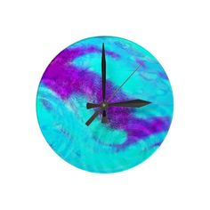 colors in the rain clocks