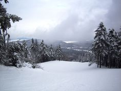 Top of Gunstock Mountain, Gilford, NH Love that our city is so close to Boston and activities up North - fun for all seasons!