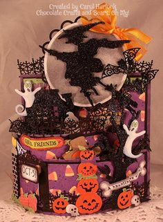 Halloween Bendi Card by Gingerbeary8 - Cards and Paper Crafts at Splitcoaststampers