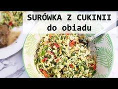 Surówka z cukinii do obiadu | www.Kasia.in - YouTube Potato Salad, Zucchini, Cabbage, Potatoes, Vegetables, Ethnic Recipes, Youtube, Food, Diet