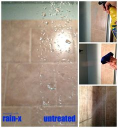 Save Money and Time! A Surprising Way to Prevent Soap Scum Build-up on Glass Shower Doors !! AMAZING !