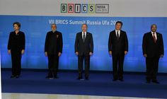 The BRICS family. Our discussions have been wide-ranging & very comprehensive. @BRICS2015