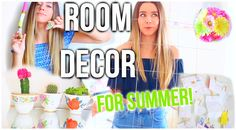DIY Summer Room Decor! Make Your Room Cute & Tumblr For Summer!