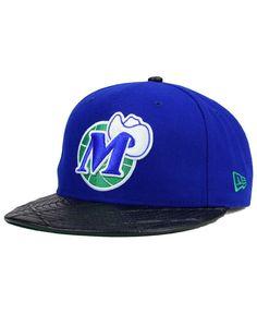 New Era Dallas Mavericks Visor Cross 9FIFTY Snapback Cap