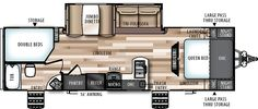 Wildwood Heritage Glen Hyper-Lyte Travel Trailers / Fifth Wheels by Forest River RV