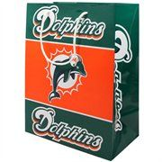 Miami Dolphins Medium Gift Bag