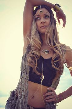 MOONS Of PLUTO Handcrafted Brass Druzy Body Chain by luxdivine #boho #bohemian #gypsy
