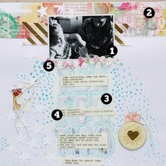 5 Liftable Scrapbook Page Ideas from a Layout by Ashley Calder