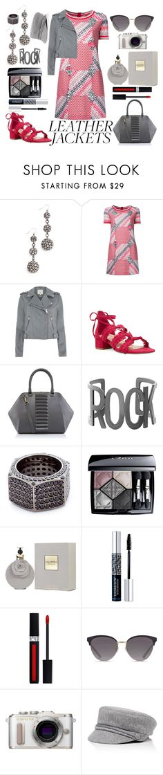 """""""See the silver lining..."""" by pulseofthematter ❤ liked on Polyvore featuring Lulu Frost, Missoni, River Island, Nine West, Kristina George, Steve Madden, Joanna Laura Constantine, Christian Dior, Valentino and Gucci"""