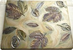 Centsational Girl » Blog Archive DIY: Fall Leaves on Canvas - Centsational Girl