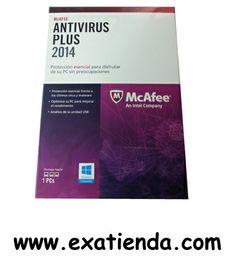 Ya disponible ANTIV. 1LC MCAFEE PLUS 2014                                 (por sólo 25.53 € IVA incluído):   - Antivirus Mcafee plus 2014 1LC - Motor de análisis de nueva generacion y alto rendimiento que ofrece maxima velocidad de analisis y uso optimizado de la bateria, y proporciona proteccion proativa frente a los ultimos virus, troyanos, spyware, rootkits y otras amenazas (MEJORADO)  - Optimizar el PC para mejorar el rendimiento - El analizador de vulnerabilidades d