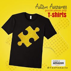 Autism Awareness #puzzle pieces pop T-shirts.Check out Perfect #Gift for #Autism t shirts ! https://www.amazon.com/dp/B06XPBRG6K  #tee #AutismDay2017