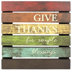Give Thanks Pallet Sign - Click through for project instructions
